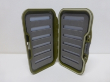 "A&M "" Olive Compact "" Fly Box"